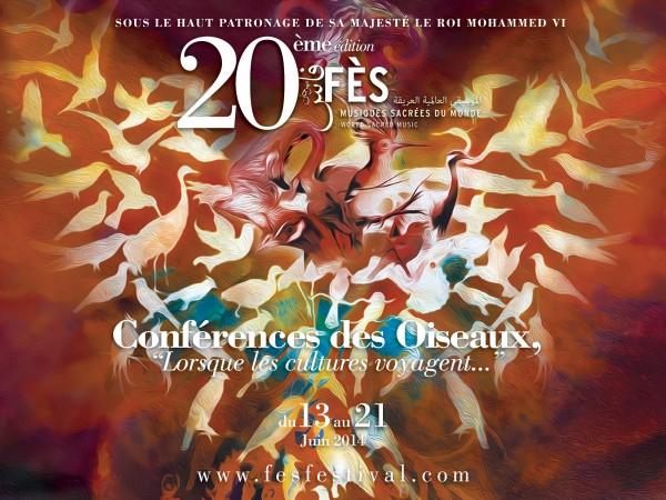 Affiche fes festival 45x60 paysage fr 600x450