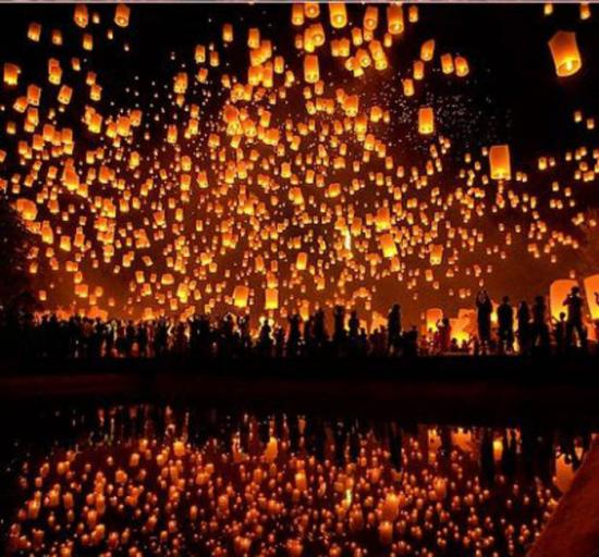 Lanterne volante chinoise 1